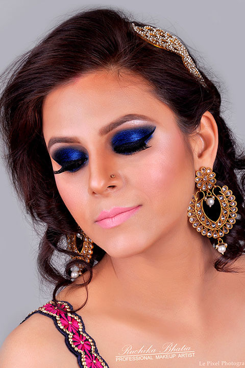 Ruchika Bhati Make up