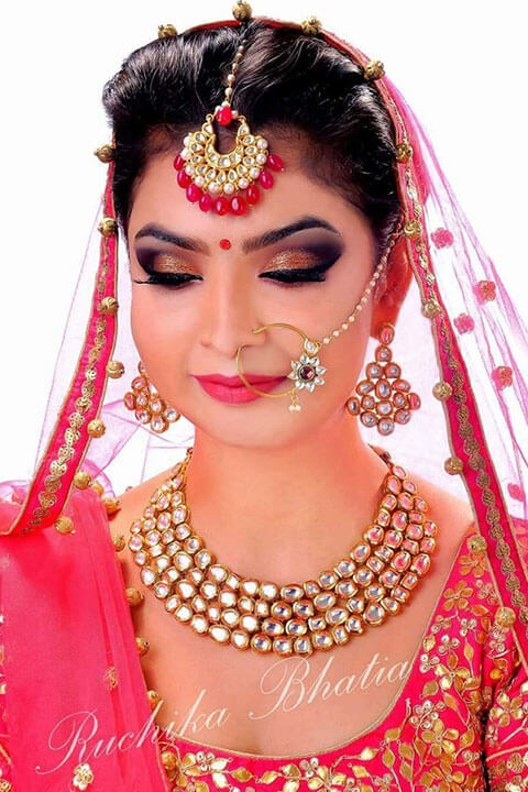 Ruchika Bhatia Make up Bridal